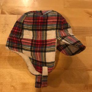 GAP Accessories - Plaid winter hat